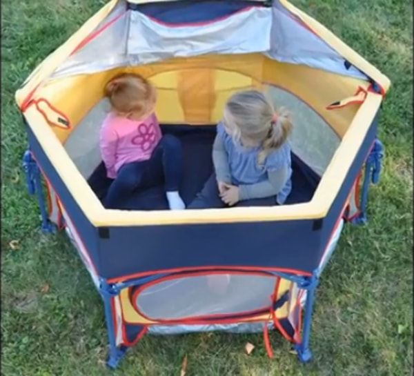Cabana, primo play yard for kids
